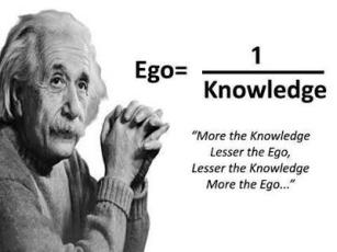Albert Einstein Ego